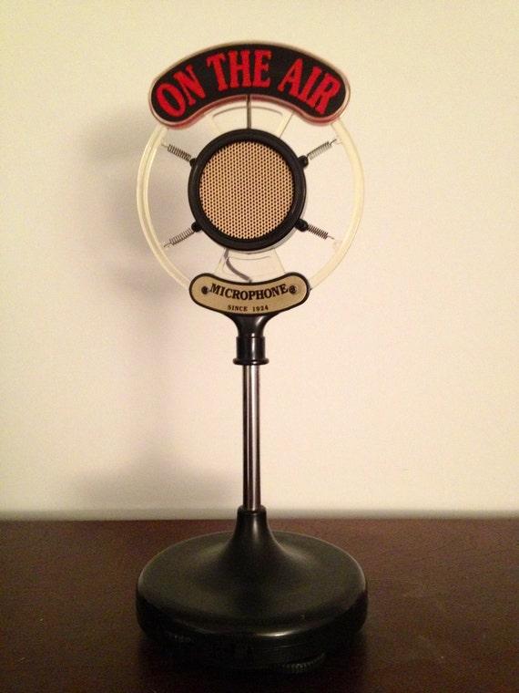 Old Fashioned Broadcast Radio Mic