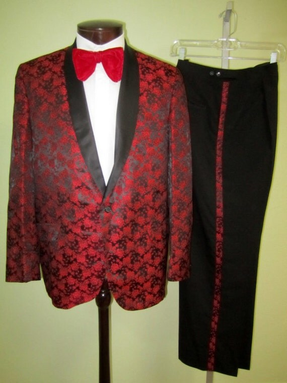 Red Tux Jacket