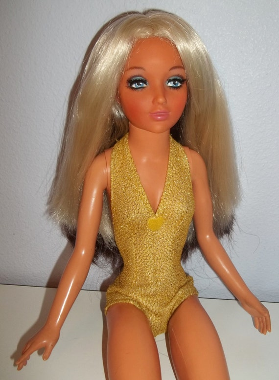 Vintage 1970s Ideal 19 Tiffany Taylor Doll W Color