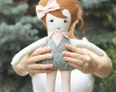 OOAK Handmade Doll - NORAH - Ready To Ship - 19 inches