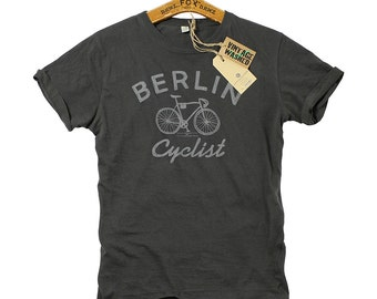 T-Shirt Berlin Cyclist grey