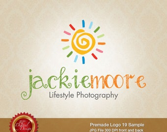 Premade Logo and Watermark, custom business logo - pml-19