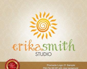 Premade Logo and Watermark, custom business logo - pml-21