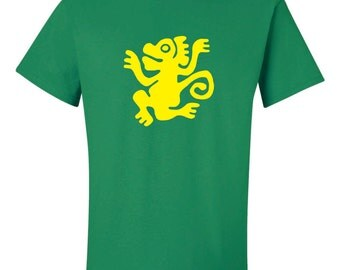 Legends Of The Hidden Temple Green Monkeys T-Shirt