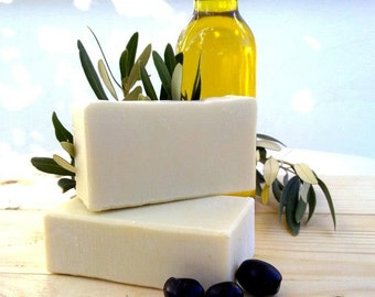 Pure Olive Oil Soap, Castile Soap, Greek Extra Virgin Olive Oil, Handmade Soaps, All Natural Products