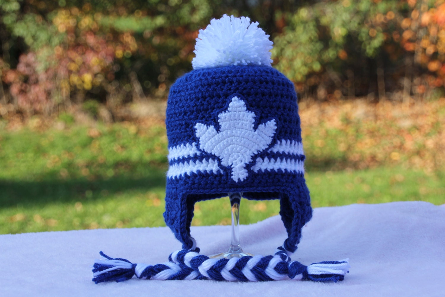 Toronto Maple Leafs Crochet Hat for Baby / Child