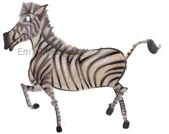 Zeke the Zebra