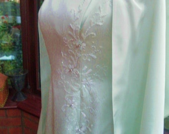 Sale reduced price Wedding prom special occasion bridesmaid ballgown beaded size uk12-usa size10