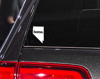Nevada Home. Decal Car or Laptop Sticker