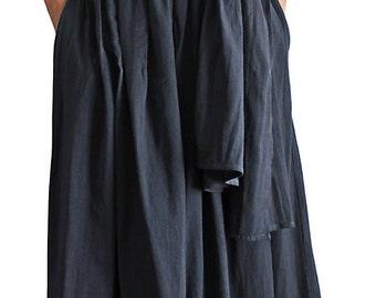 Soft Cotton Bare Top Wrap Dress (DNN-073-03)