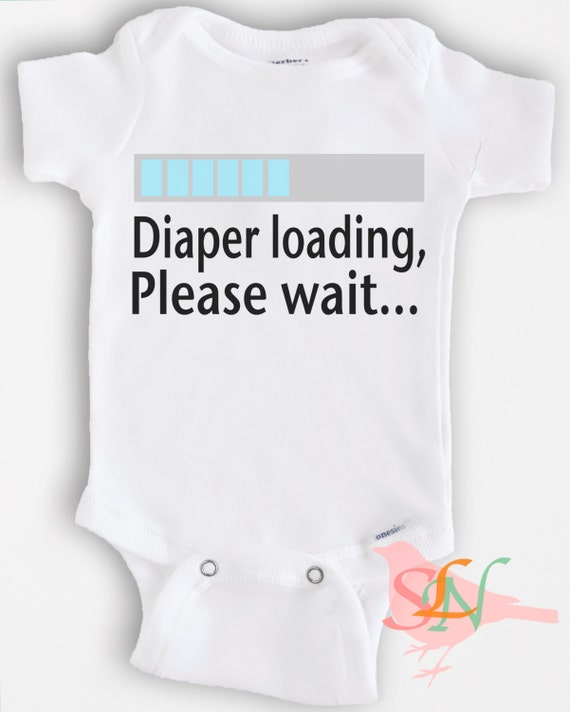 Items similar to Cute baby Onesie Bodysuit- Funny Quote ...