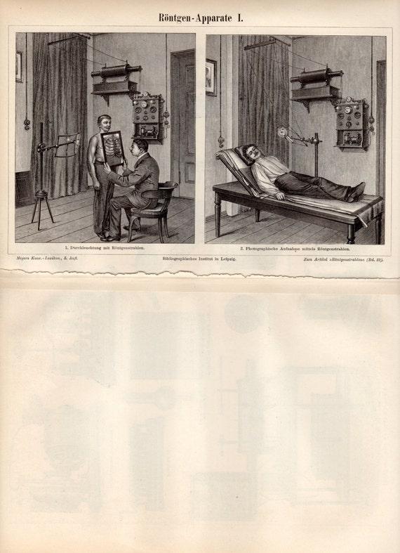 antique xray machine