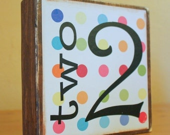 Wood Birthday Sign- Birthday Decor- 2nd Birthday Sign- Custom Birthday Sign- 1st Birthday Party Decor- Cake Table Decor- Party Centerpiece