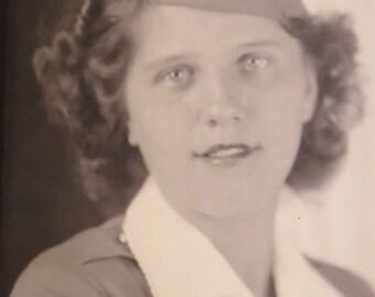 World War II US Army National Air Women's Signal Corps Woman Photo - Free Shipping