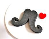 Moustache Cardstock Cutouts Set of 12
