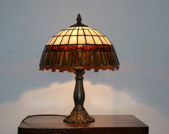 Stained Glass Lamp Mosaic Tiffany Lamp