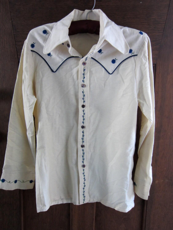 Vintage Cowboy Shirts For Men