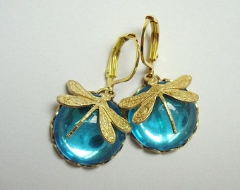 Earrings 'Summer Dragonfly'