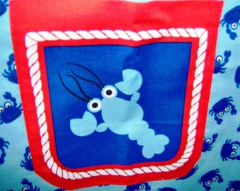 Seafood Crabs Lobster Apron Gift Idea