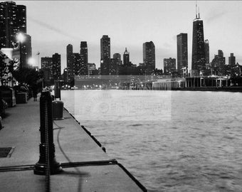 Chicago at Dusk, Chicago, Illinois