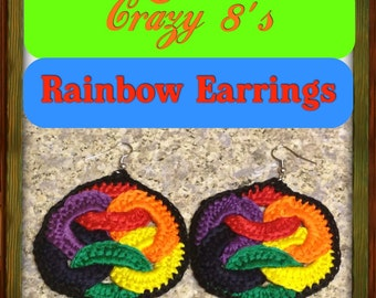 "Crazy 8's ""Over the Rainbow"" Earrings"