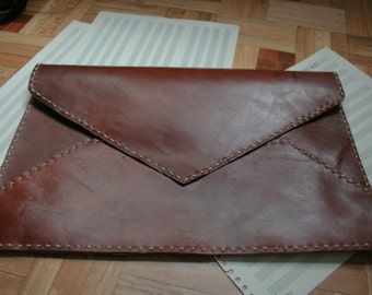 Handmade leather case ipad iphone