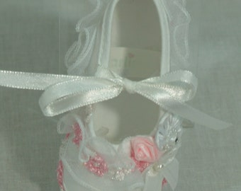 Baby Shoes girls pink and white shoes, more colors