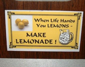 Lemons Refrigerator Magnet (Business Card Size)