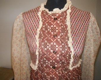 1970's Vintage Gina Fratini Dress