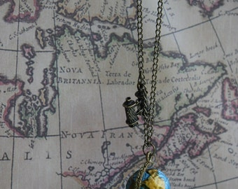 Take Me Around The World NECKLACE