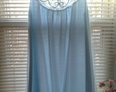 Something Blue Wedding Lingerie Nightgown by Aristocraft, Sleepwear, Size Medium