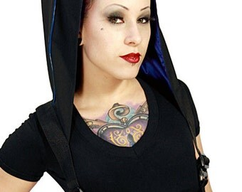 NightShade harness with hood by Plastik Wrap.