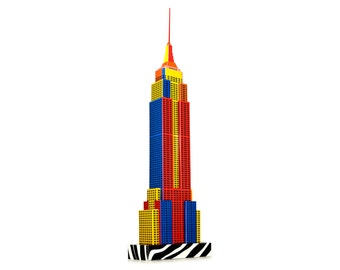 Empire State Building, craft model kit || Popart Edition || 18 inches or 45 cm high