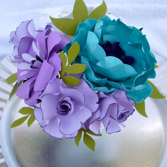 6 Medium Centerpieces - made to match your style and color scheme