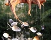 XL Natural Driftwood Art, Fish Tank Terrarium Airplant Succulent, woodworking craft, driftwood pieces, reclaimed wood art abstract sculpture