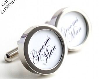 Groomsman Cufflinks, Elegant Cufflinks for all your Groomsmen PC062