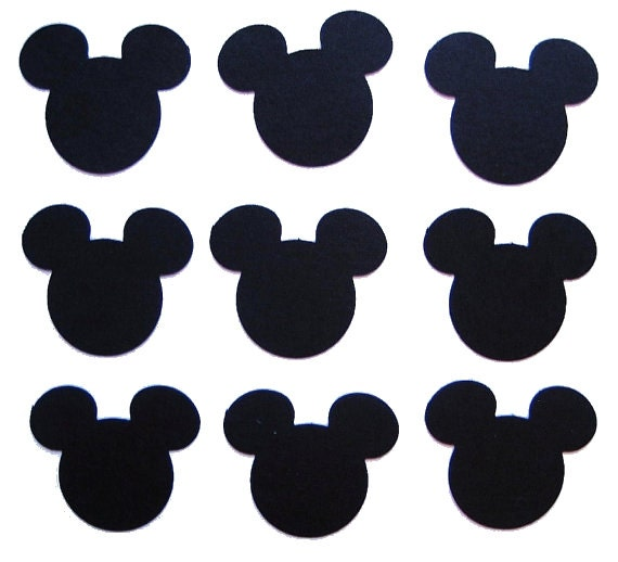 Delicate image in mickey mouse printable cutouts