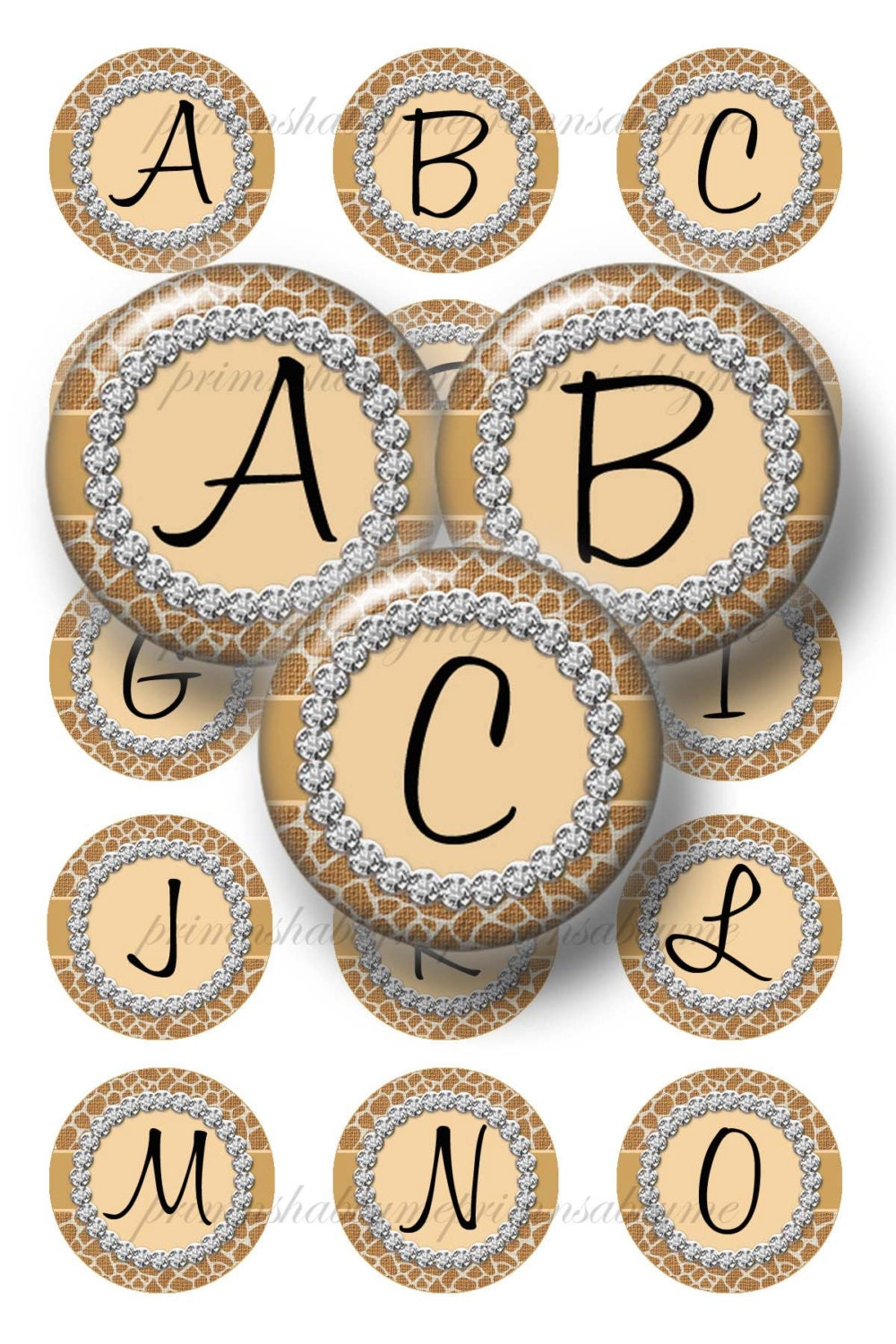 1 Inch Letters Alphabet Letters 1 Inch Circle Bottle Cap Images Digital