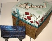 Lets Dance Birthday Exploding Box with Poppies and Other Yummy Embellishments