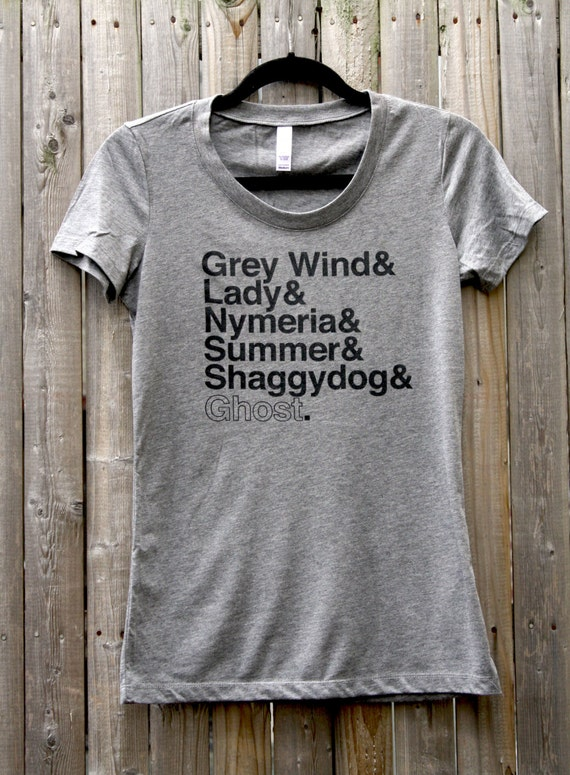 Game of thrones direwolves names women 39 s scoop neck tee for Throne of games shirt