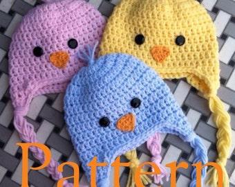 Little Bird Hat Pattern