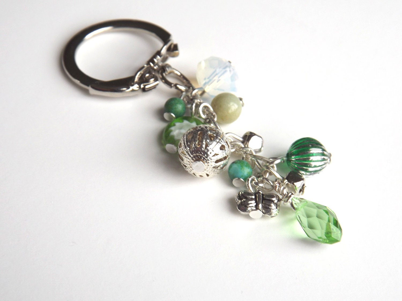 handmade beaded keychain key chain bag charm accessories