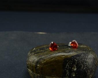 cubic zirconia stud,CZ stud,diamond like stud,rhinstone stud