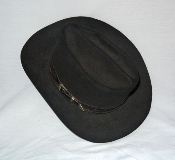 Vintage 40s 50s Western Hat 1940s 1950s Cowboy By