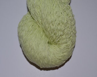 Pure Cotton Reclaimed Yarn Light Celery Green - 583 yards