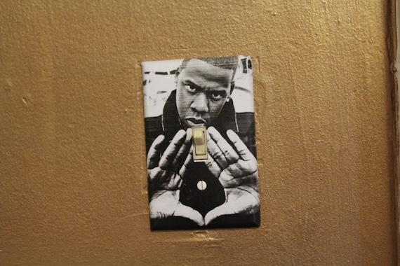 """Jay Z  """"Diamond""""  -  Light Switch Plate"""