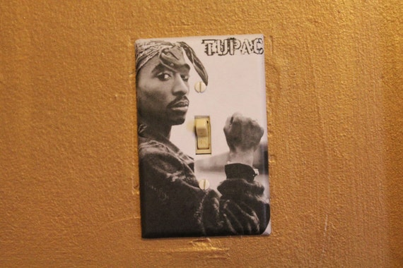 Tupac  -  Light Switch Cover Plate