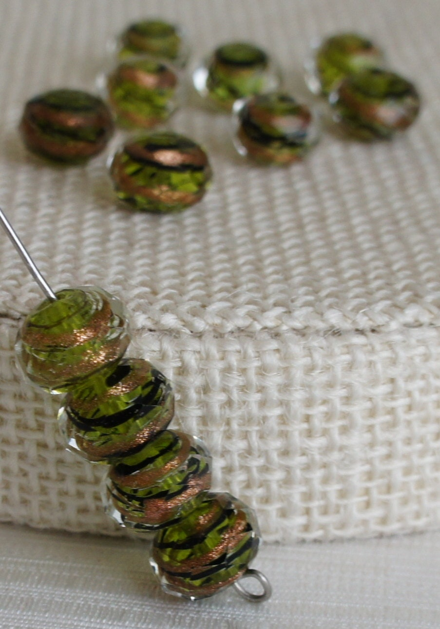 glass bead supplies murano glass faceted