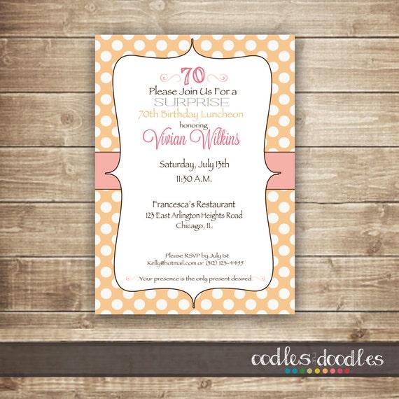 Surprise birthday invitation blush and peach birthday invitation il570xn filmwisefo