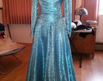 Blue Princess Renaissance Dress